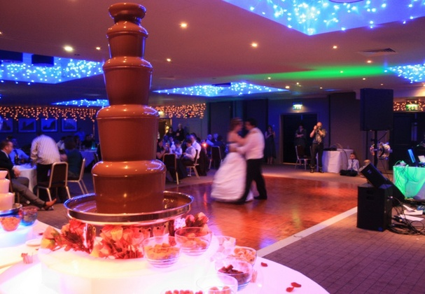 Large Chocolate Fountains