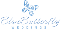 Blue Butterfly Weddings